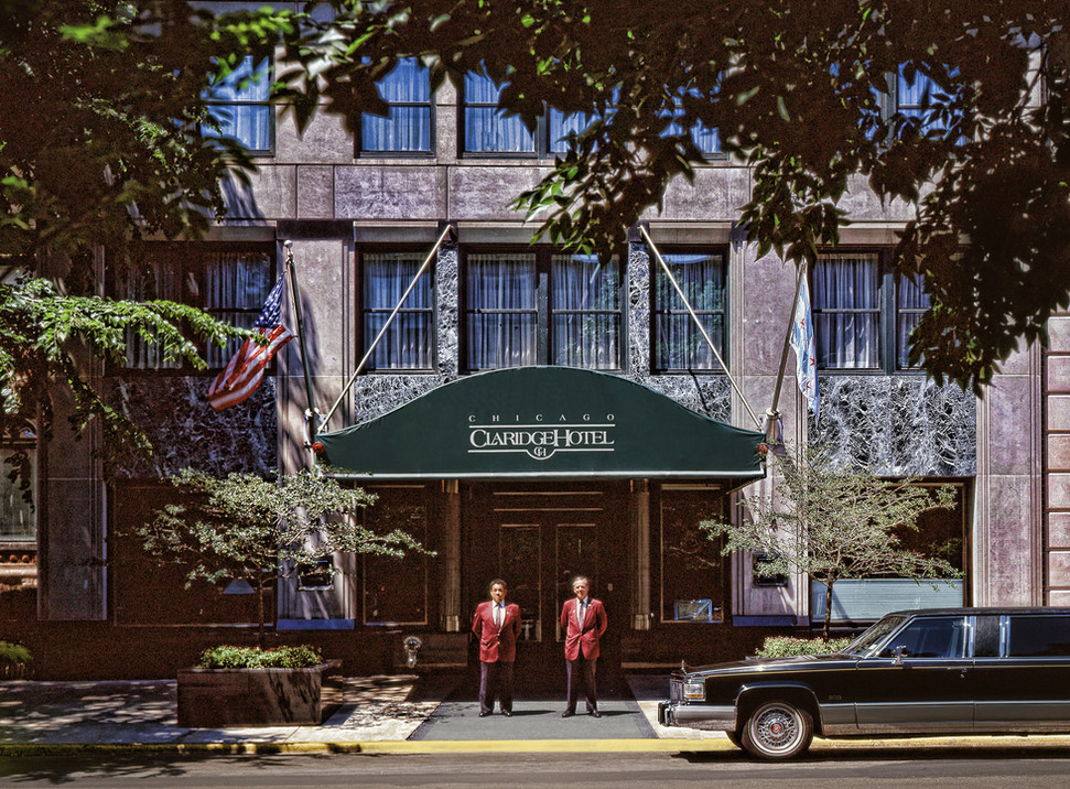 Chicago Claridge Hotel Bill Crofton c.jp