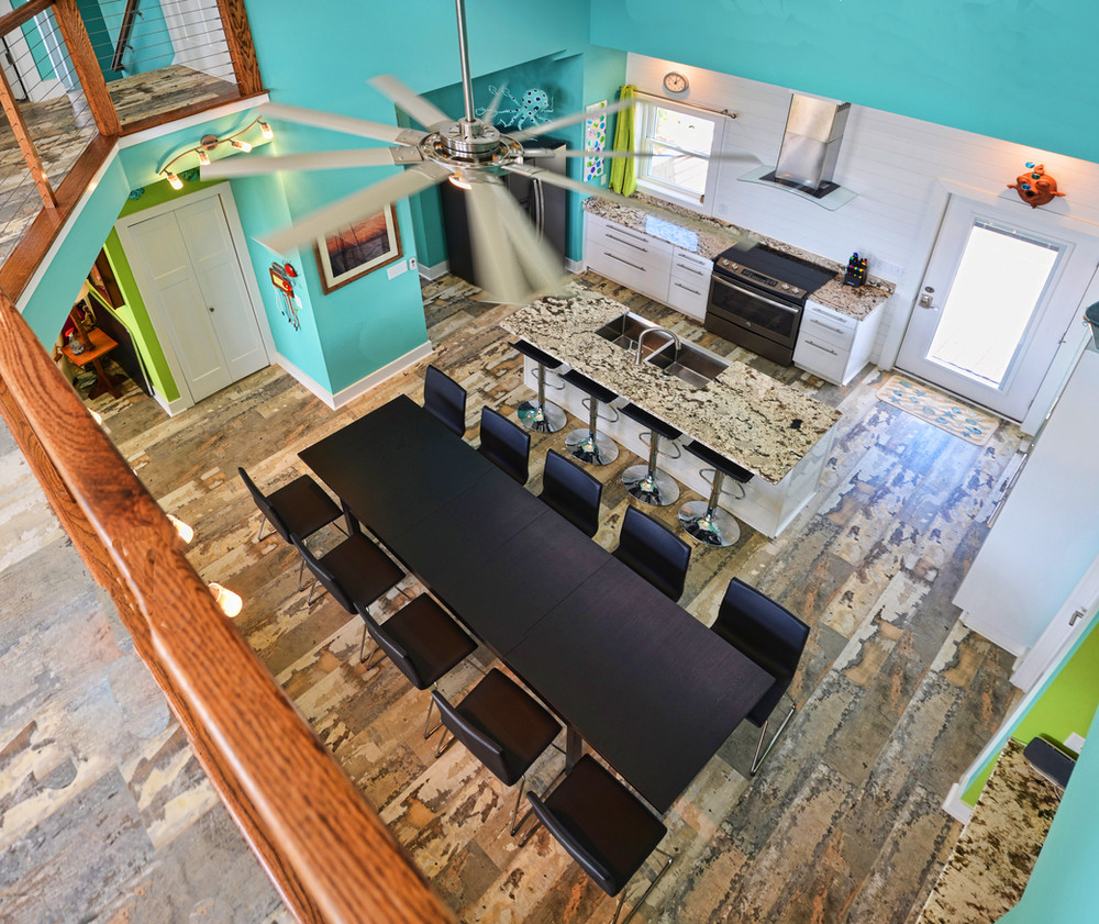 Air Bb Ocean Isle NC Kitchen from above