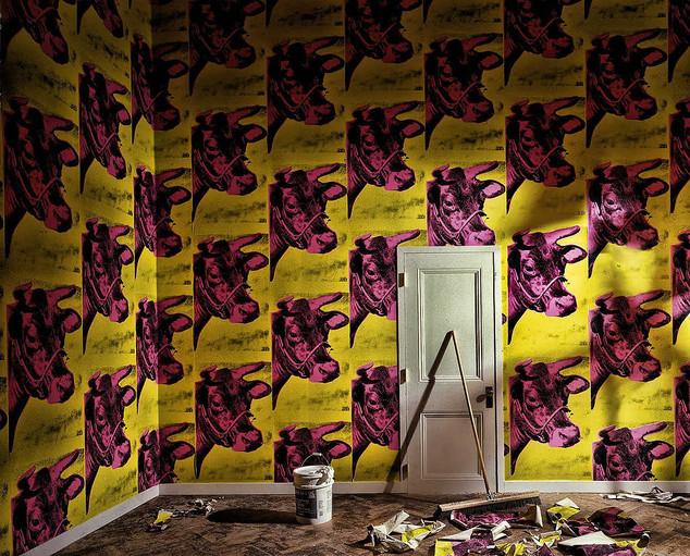 00007 0007 0012 Andy Warhol Cow wallpape