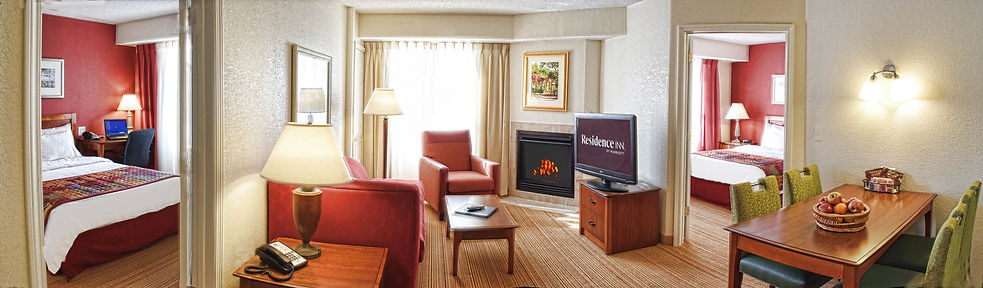 Residence Inn Marriott room Bill Crofton