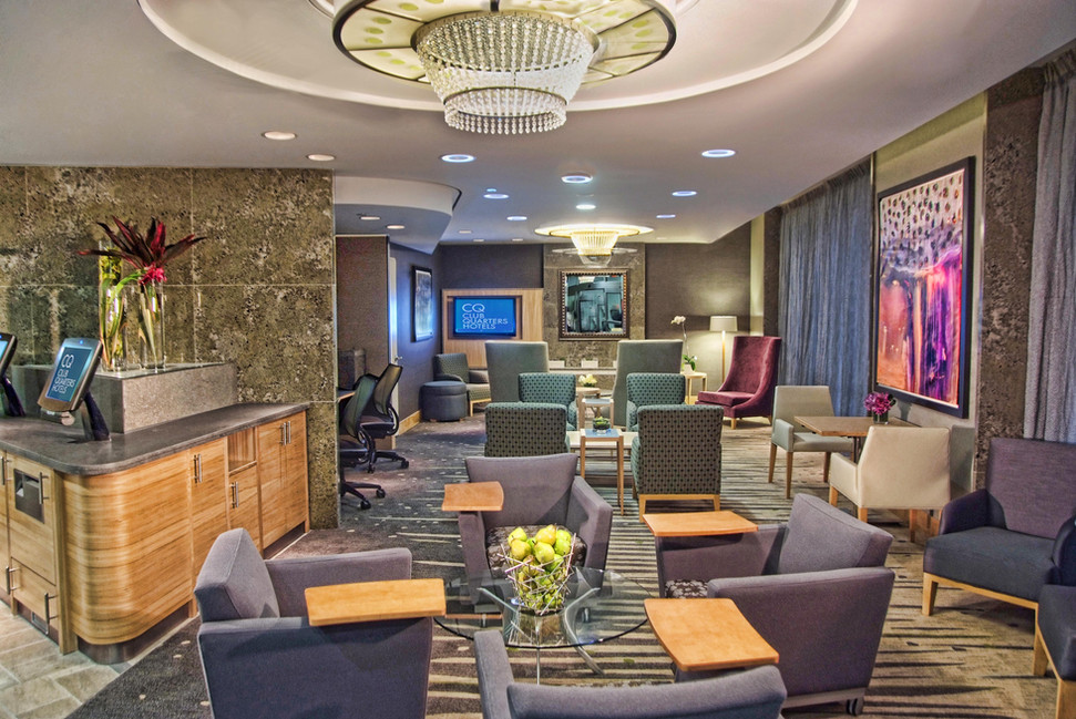 Club Quarters Hotel Lobby NY Bill Crofto