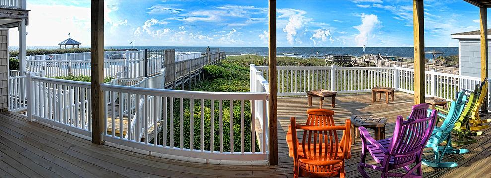 Ocean Isle  NC air Bb Back  deck view 26