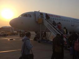関西空港KIX~中国・北京首都国際空港PEK~福岡空港FUKのハンドキャリー ⑤