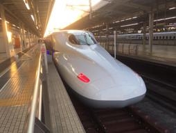 《新幹線ハンドキャリー》のぞみらいふ♪6時ちょうどののぞみ200号で