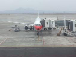 関西空港KIX〜中国・煙台国際空港YNTのハンドキャリー ②