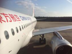 関西空港KIX~中国・上海国際空港PVGのハンドキャリー ②