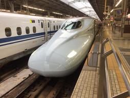《新幹線ハンドキャリー》みずほらいふ♪始発みずほ西に行く