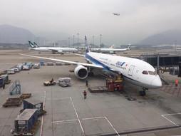 リアルタイム♪《海外国際ハンドキャリー》香港→羽田空港行き