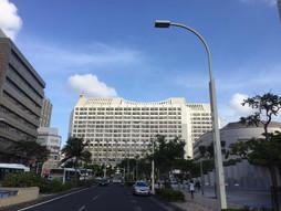 《海外国際ハンドキャリー》すろ〜らいふ♪沖縄県庁 ISSAに会いに来た