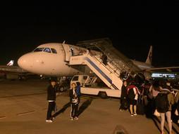 関西空港KIX〜中国・北京首都国際空港PEKのハンドキャリー 中国上海トランジット編