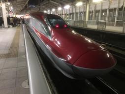 《新幹線ハンドキャリー》こまちらいふ♪仙台駅→大宮駅とんぼ帰り