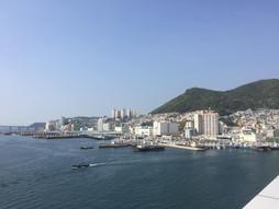 《海外国際ハンドキャリー》すろ〜らいふ♪釜山港の朝