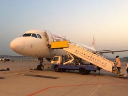関西空港KIX~中国・北京首都国際空港PEK~福岡空港FUKのハンドキャリー 青島経由帰国編