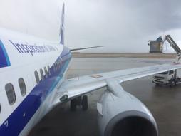 関西空港KIX~中国・大連周水子国際空港DLCのハンドキャリー