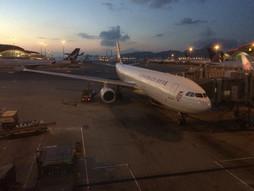 リアルタイム♪関西空港KIX~中国・広州白雲国際空港CANのハンドキャリー