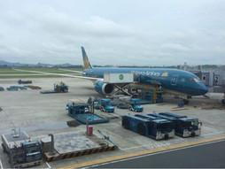 関西空港KIX~ベトナム・ノイバイ国際空港HANのハンドキャリー 機内食&ホテル編