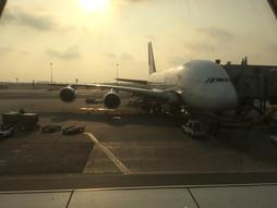 タイ・スワンナプーム国際空港BKK~関西空港KIXのハンドキャリー 帰国編
