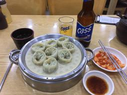 《海外国際ハンドキャリー》すろ〜らいふ♪釜山でビア&マンドゥ(蒸し餃子)