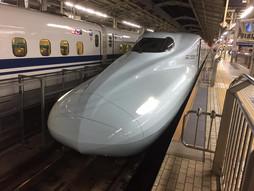 《新幹線ハンドキャリー》始発みずほ号♪山口県徳山駅行き