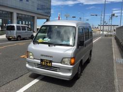 《軽四輪車の緊急配送》すろ〜らいふ♪関西空港 貨物エリア 赤とんぼ舞う