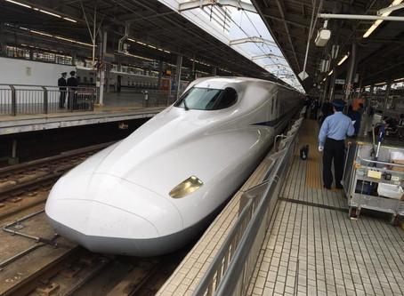 《新幹線ハンドキャリー》のぞみらいふ♪新大阪駅→広島駅行き