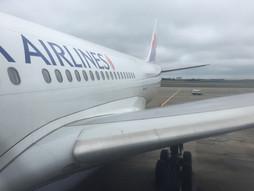 広島空港HIJ〜タイ・バンコクスワンナプーム国際空港BKKのハンドキャリー 台北乗換え休憩編