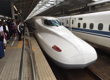 《新幹線ハンドキャリー》ひかりらいふ♪新大阪駅→静岡駅行き