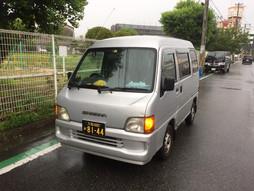 《軽四輪車の緊急配送》すろ〜らいふ♪雨の堺市浜寺公園☔️