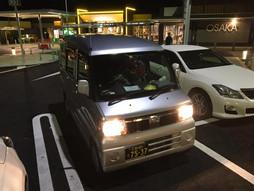 《軽四輪車の緊急配送》すろ〜らいふ♪東京→大阪 ミッドナイトラン