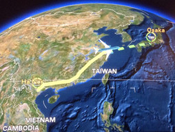 関西空港KIX~ベトナム・ノイバイ国際空港HANのハンドキャリー 帰国編
