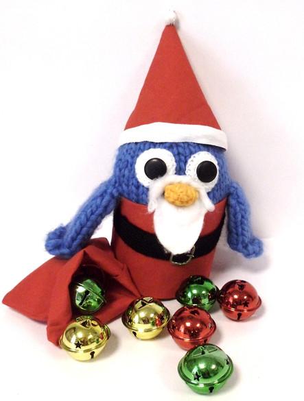 Christmas Woolly Bird