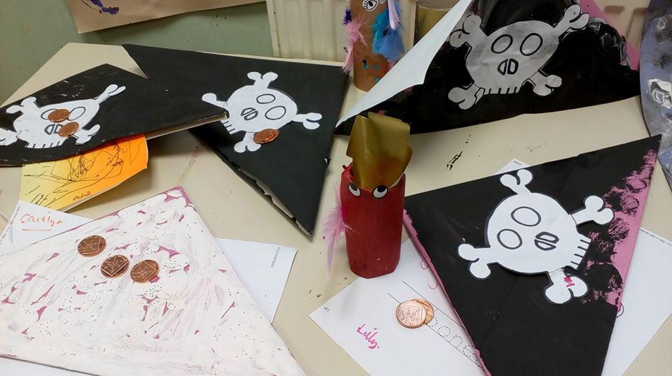 Making pirate hats