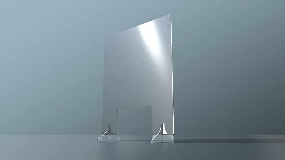Acrylic protection screen (Regular) - Cut out