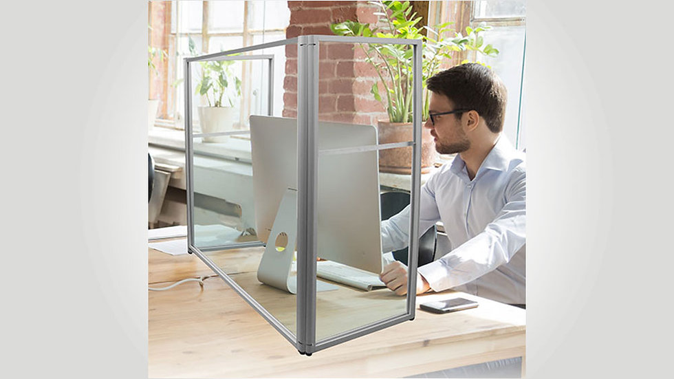 Free-standing Screen Guard Wrap