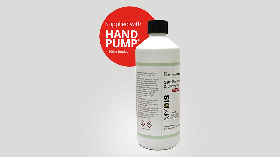 70% Alcohol Hand Sanitiser Gel