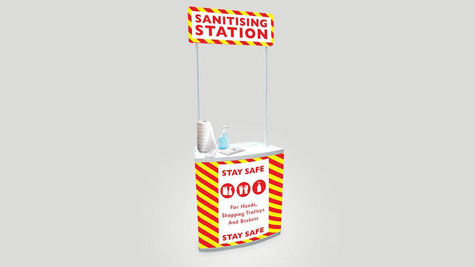 Sanitiser Counter - Counta