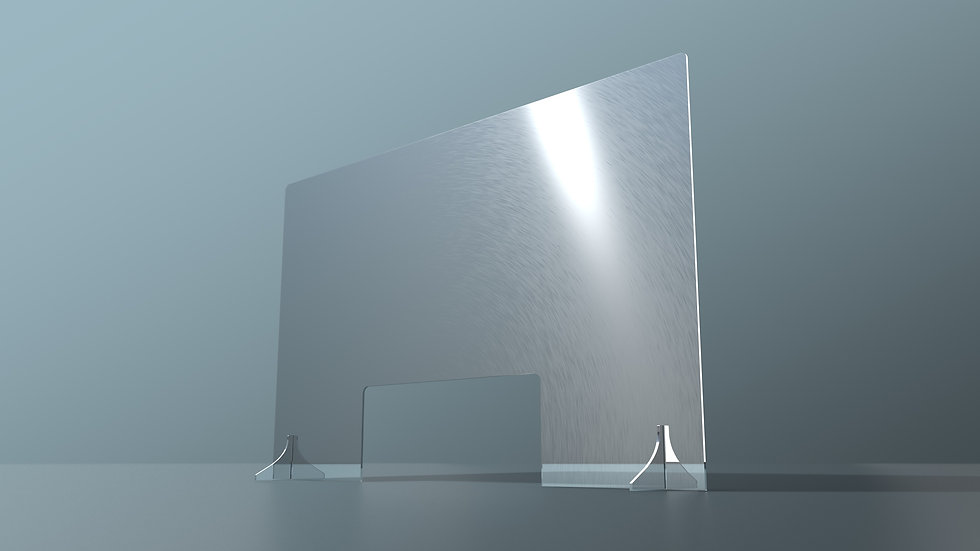 Acrylic protection screen (Large) - Cut out