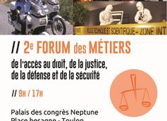 Forum des métiers de l'accès au droit, de la justice, de la défense et de la sécurité