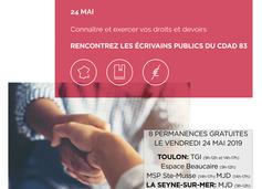 Les écrivains publics à l'honneur de la Journée Nationale d'accès au Droit