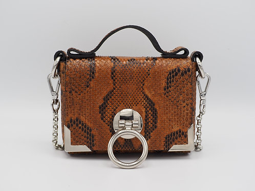 SUPER MINI CLUTCH DELUXE PYTHON LEATHER