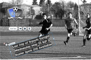 Elk Grove United Last Night of Tryouts