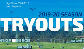 2019-20 Tryouts