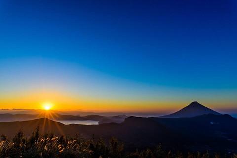 大野岳の初日の出