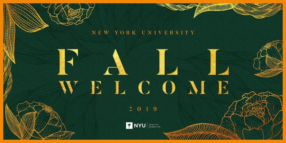 NYU Fall Welcome