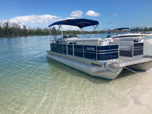 Pontoon at Tigertail Beach