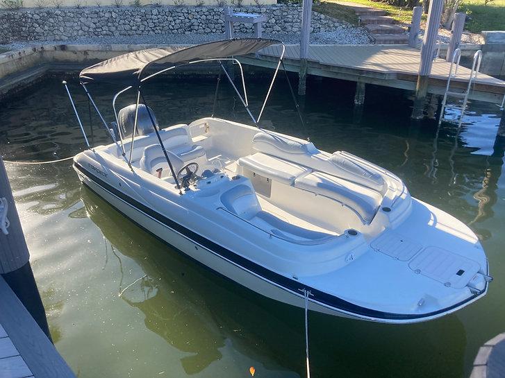 Marco Island Deck Boat Rental