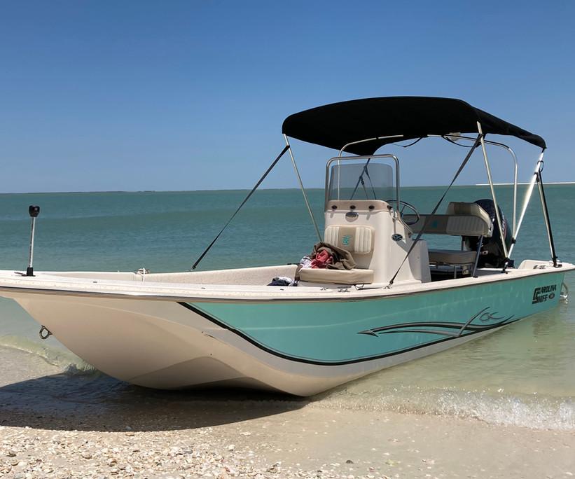 Carolina Skiff Rental Marco Island Florida