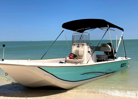 Fishing Boat Rental at Cape Romano