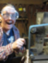 me_prepping_for_pattern_welded_steel_by_