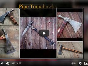 Forging Pipe Tomahawks